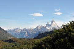 Fitz de Roy nella Patagonia, Argentina Fotografie Stock Libere da Diritti