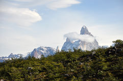 Fitz de Roy nella Patagonia, Argentina Fotografia Stock