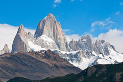 Fitz góra Roy, Patagonia, Argentyna zdjęcia stock