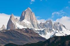 Fitz Roy山,巴塔哥尼亚,阿根廷 库存照片