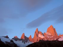 Fitz Roy   foto de stock royalty free