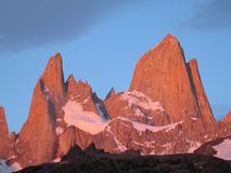 Fitz Roy royalty free stock images