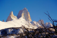 Fitz Roy Stockbild