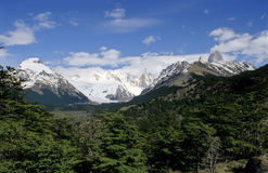 Fitz Roy and Cerro Torre Stock Photography