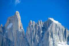 Fitz Roy and Cerro Torre peaks Stock Photography