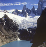 Fitz Roy in Chalten Stock Photo