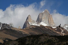 Fitz Roy and condor Stock Images