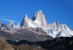 Fitz Roy en Patagonia Fotografía de archivo