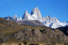 Fitz Roy en Patagonia Fotos de archivo
