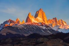 Fitz Roy góra, Patagonia Zdjęcie Royalty Free