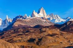 Fitz Roy góra, Patagonia Zdjęcia Stock