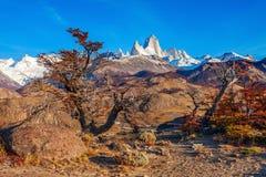 Fitz Roy góra, Patagonia Obrazy Royalty Free