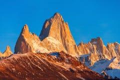 Fitz Roy góra, Patagonia Obraz Stock