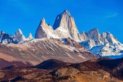 Fitz Roy góra, Patagonia Fotografia Stock