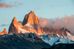 Fitz Roy Mountain, El Chalten, Patagonia Royalty Free Stock Photo