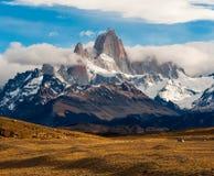 Fitz Roy Mountain, El Chalten, Patagonia Royalty Free Stock Image