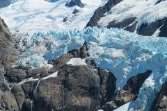 Fitz Roy mountain glacier spectacular view Stock Photography