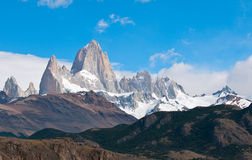 Fitz Roy mountain, Patagonia,Argentina Royalty Free Stock Images