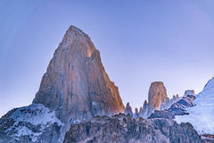 Fitz Roy Mountain, Patagonia - Argentine photo libre de droits