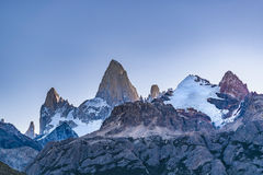 Fitz Roy Mountain, Patagonia - Argentine photos stock