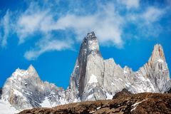 Fitz Roy Mountain Range, Argentina Immagine Stock