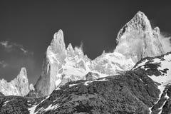 Fitz Roy Mountain Range, Argentina Immagini Stock