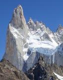 Fitz Roy Mountain Range, Argentina. One of Patagonia's premier traveler magnets, Los Glaciares National Park, Argentina Stock Image
