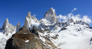 Fitz Roy Mountain Range in Patagonia, Argentina Royalty Free Stock Photography
