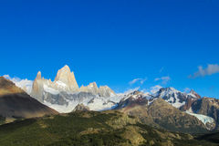 Fitz Roy mountain spectacular view Royalty Free Stock Photography