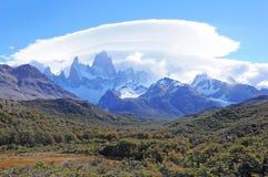 Fitz Roy mountain. Stock Image