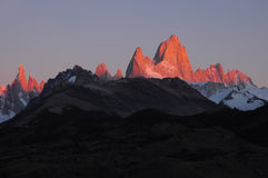 Fitz Roy mountain. Stock Images