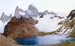 Fitz Roy, Patagonië Argentinië Stock Fotografie