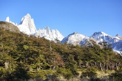 Fitz Roy, Patagonia, Argentina Stock Photography