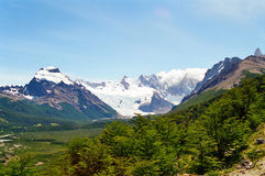 Fitz Roy, Patagonia la Argentina Foto de archivo libre de regalías