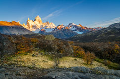 Fitz Roy scenic view Royalty Free Stock Photography