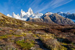 Fitz Roy scenic view Royalty Free Stock Images