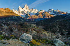 Fitz Roy scenic view Royalty Free Stock Photo