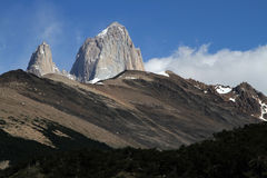 Fitz Roy summit Stock Images