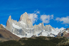 Fitz Roy on a sunny day Stock Photo