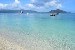 Fitzroy海岛-石标 图库摄影
