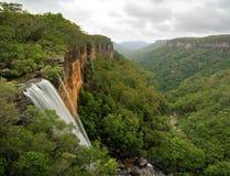 Fitzroy baja las montañas meridionales Australia del valle de Yarrunga Foto de archivo