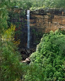 Fitzroy Falls, South of NSW, Australia. A view of Fitzroy Falls, South of NSW, Australia on a sunny day Stock Image
