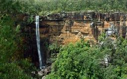 Fitzroy Falls, South of NSW, Australia. A view of Fitzroy Falls, South of NSW, Australia on a sunny day Stock Photos