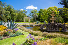 Fitzroy Gardens Stock Photos