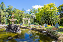 Fitzroy Gardens Royalty Free Stock Photography