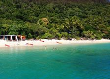 Fitzroy Island Main Beach royalty free stock images