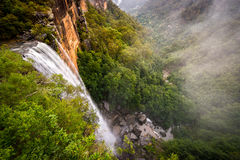 Fitzroy vattenfall royaltyfri fotografi