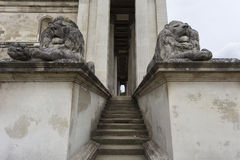 Fitzwilliam Museum Side Entrance Royalty Free Stock Photo