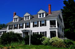Fitzwilliam, NH:  Historic 18th Century Fitzwilliam Inn Royalty Free Stock Image