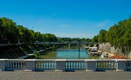 Fiume亚诺河,佛罗伦萨,意大利 免版税库存图片
